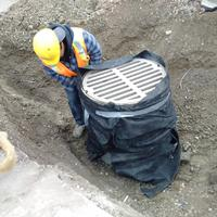 Drain and manhole repair or installation