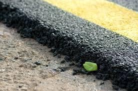 Entretient de l'asphalte